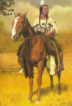 native american girls and their ponies | Native American Girl on Horse - The Art of John Solie
