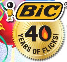 Play the BIC Flickers 40th Birthday Flicktacular Instant Win Game! Enter for a chance to win one of lots of great prizes!