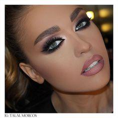 Trendy Ideas for wedding makeup natural smokey hair colors Wedding Makeup Tips, Natural Wedding Makeup, Natural Eye Makeup, Bridal Makeup, Smokey Hair, Smokey Eye Makeup, Glam Makeup, Skin Makeup, Makeup Shop