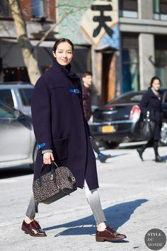 Fei Fei Sun by STYLEDUMONDE Street Style Fashion Photography