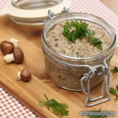 Clean Eating Recipes, Cooking Recipes, Vegetarian Recepies, Healthy Snacks, Healthy Recipes, Vegan Sauces, Hungarian Recipes, Vegan Kitchen, Food 52