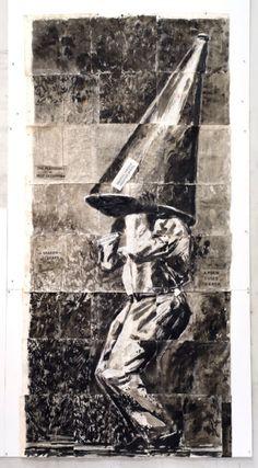 Vertical Thinking  William Kentridge  Thato  Maxxi, Rome  WIKE-454-01.jpg (359×650)