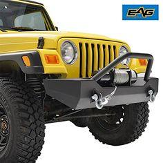 E-Autogrilles 87-06 Jeep Wrangler TJ/YJ Off Road Black Te...