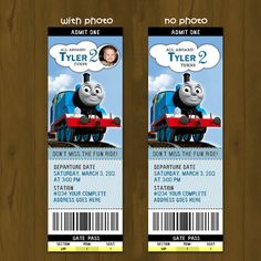 Thomas the Train Printable Birthday DIY Party Package