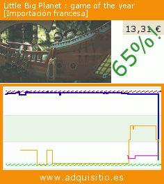 Little Big Planet : game of the year [Importación francesa] (Videojuegos). Baja 65%! Precio actual 13,31 €, el precio anterior fue de 37,70 €. https://www.adquisitio.es/sony-computer/little-big-planet-game-of