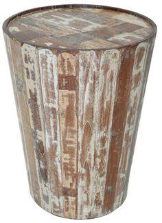 Hampton Barrel End Table