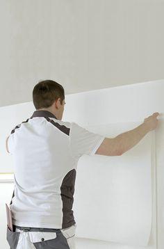 poser de la fibre de verre - Comment Peindre Un Plafond Facilement