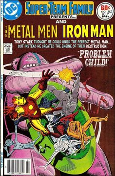 Super-Team Family: The Lost Issues!: The Metal Men and Iron Man