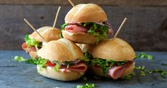 Whether for your kid's lunch or a big party, these mini Italian subs will be a hit.