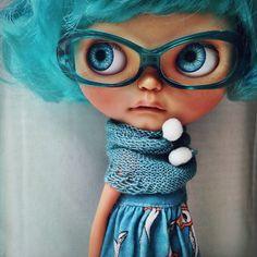 (☌ᴗ☌ )                                             Blythe Doll                                                      Ramona's glasses