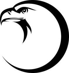 Eagle vector art illustration # Pets desenho Stylized eagle head emblem illustration for your design Free Vector Graphics, Free Vector Art, Illustrations Vintage, Illustration Art, Hahn Tattoo, Eagle Drawing, Eagle Head, Eagle Face, Eagle Vector
