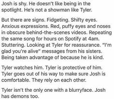Josh dun of twenty one pilots *TEARS* Tyler And Josh, Tyler Joseph, Screamo, Paramore, Staying Alive, My Chemical Romance, Twenty One Pilots, Music Stuff, Music Bands