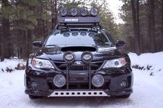 "My subi ""Shiny"". could look like this! She will definitely be my goto zombie apocalypse vehicle! T."
