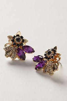 Anthropologie - Honeybee Earrings
