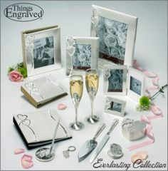 The Everlasting Wedding Collection  http://www.thingsengraved.ca/products.php?s=x_everlasting  #thingsengraved #thingsengravedgifts