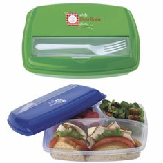 Eat healthy and save money by bringing your lunch to work with this Good Value® Economy Lunch Box. Each lunch. Corporate Giveaways, Corporate Events, Realtor Gifts, Business Gifts, Food Containers, Health And Wellness, Activities For Kids, Promotion, Picnic