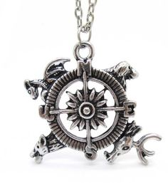 Game of Thrones Necklace,A Great Gift For Game of Thrones Fans