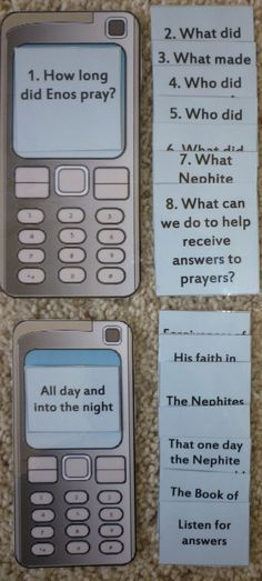 Great lessons, games and activities for teaching LDS children the Book of Mormon. Love this blog!