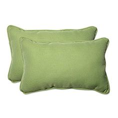 Amazon.com: Pillow Perfect Outdoor/Indoor Tweed Rectangular Throw Pillow (Set of 2), Lime: Home & Kitchen