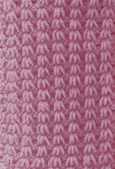 tunisian crochet stitches - Google Search