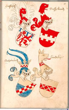 Bruderschaftsbuch des jülich-bergischen Hubertusordens Niederrhein, um 1500 Cod.icon. 318  Folio 40r