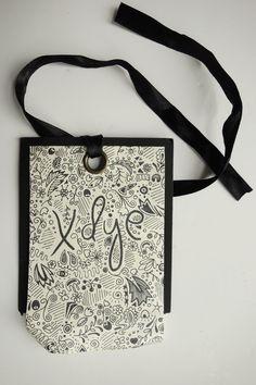 Nice scribbled hang tag