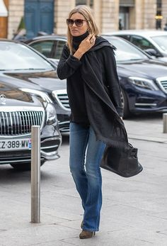 Supermodel Kate Moss is seen on September 2019 in Paris, France. Get premium, high resolution news photos at Getty Images Celebrity Dresses, Celebrity Style, Estilo Kate Moss, Moss Fashion, Paris Fashion, Looks Style, My Style, Look Star, Kate Moss Style