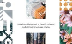 Hinterland, on siteInspire: a showcase of the best web design inspiration. Best Web Design, User Experience, Web Design Inspiration, User Interface, Layout, Website, Studio, Dreams, Medium