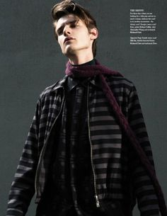 Douglas Neitzke  Tomek Szalanski Wear Winter Scarves for Fashionisto #9