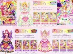 Aikatsu Stars! Yume, Elsa & Mahiru sun dresses