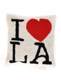 I Love LA Hook Pillow. #LAeveryday
