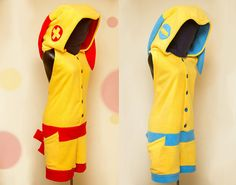 PLUSLE / MINUN Pokemon Party Kigu by Blankoo on Etsy