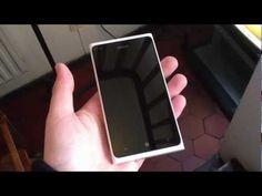 White Nokia Lumia 900 hands-on video