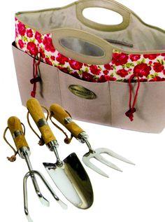 Tuingereedschap in handige tas www.shop.latuin.eu