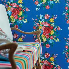 We've got thousands of wallpaper patterns to choose from. Whether you're looking for a bright feature wall, or a classic stripe, we have a wallpaper design for you Dark Blue Wallpaper, Blue Wallpapers, Of Wallpaper, Designer Wallpaper, Pip Studio, Deco Boheme, Dutch Painters, Blue Rooms, Bright Rooms