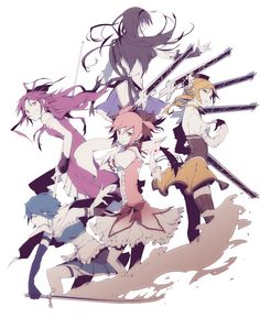 Good Anime For Girls? - What is some good anime for girls? I hav'nt watched that much anime so what are some good ones? I've question and answer in the Anime club Madoka Magica, Baguio, Anime Shows, Magical Girl, Shoujo, Anime Characters, Manga Anime, Fanart, Character Design