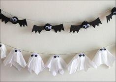 Monstrinhos de halloween fáceis de fazer!