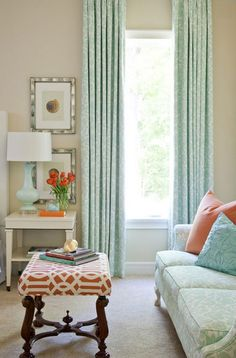 Beautiful Turquoise Room Ideas for Inspiration Modern Interior Design and Decor. Find ideas and inspiration for Turquoise Room to add to your own home. My Living Room, Home And Living, Living Area, Living Spaces, Small Living, Cozy Living, Kitchen Living, Turquoise Room, Light Turquoise