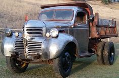 Dodge Other Pickups Montana Barn Find Dump Trucks, Hot Rod Trucks, Cool Trucks, Big Trucks, Pickup Trucks, Truck Flatbeds, Classic Trucks, Classic Cars, Chevy Classic