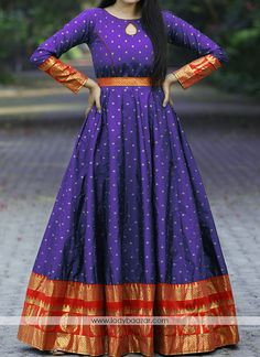 Party Wear Long Gowns, Party Wear Indian Dresses, Indian Gowns Dresses, Indian Fashion Dresses, Indian Designer Outfits, Girls Fashion Clothes, Woman Clothing, Kids Blouse Designs, Dress Neck Designs