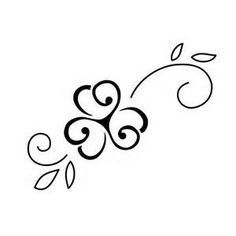 tattoo clip art - Yahoo! Image Search Results Jill I love this one! Flower. but also 3 hearts! :)