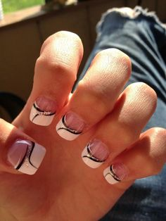 Fancy French Manicure
