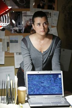 Ziva David of the Mossad and NCIS. Cote de Pablo was born in Chile and graduated from Carnegie Mellon in Pittsburgh
