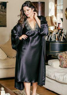 Twitter Pyjama Satin, Satin Nightie, Satin Sleepwear, Satin Lingerie, Satin Gown, Lingerie Dress, Satin Slip, Pretty Lingerie, Beautiful Lingerie