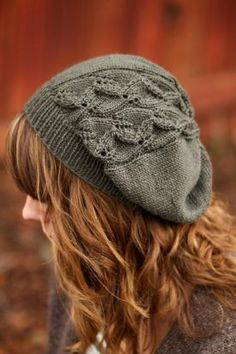 7d58817a80e Laurelwood Slouchy Beanie - Knitting Patterns by Chelsea Anne Design Knit  Mittens