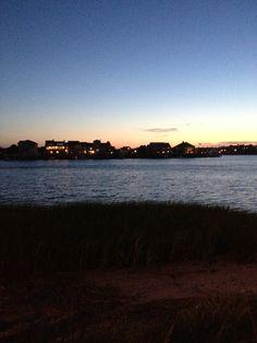 Sunsets.  Brigantine Nj
