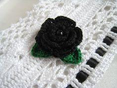 Bracelet mariage manchette au crochet dentelle style victorien romantique…