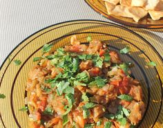 Roasted Eggplant Salsa