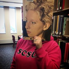 #bookfacefriday at the Library! #scsulibrary
