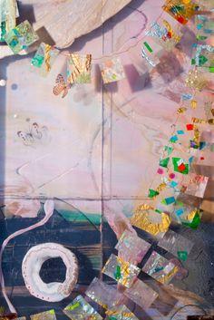 Adventure Sculpture by Jessica Zoob & Karl Smith Collaborative Art, Vaporwave, Installation Art, Love Art, Butterflies, Swarovski Crystals, Mixed Media, Resin, Girly